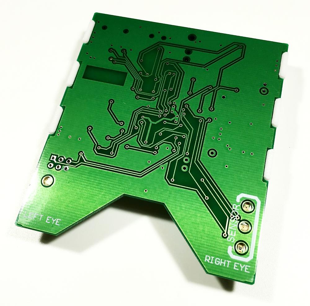 Разработка электроники и изготовление электронных приборов, нижняя сторона печатной платы DreamStalker Ultra