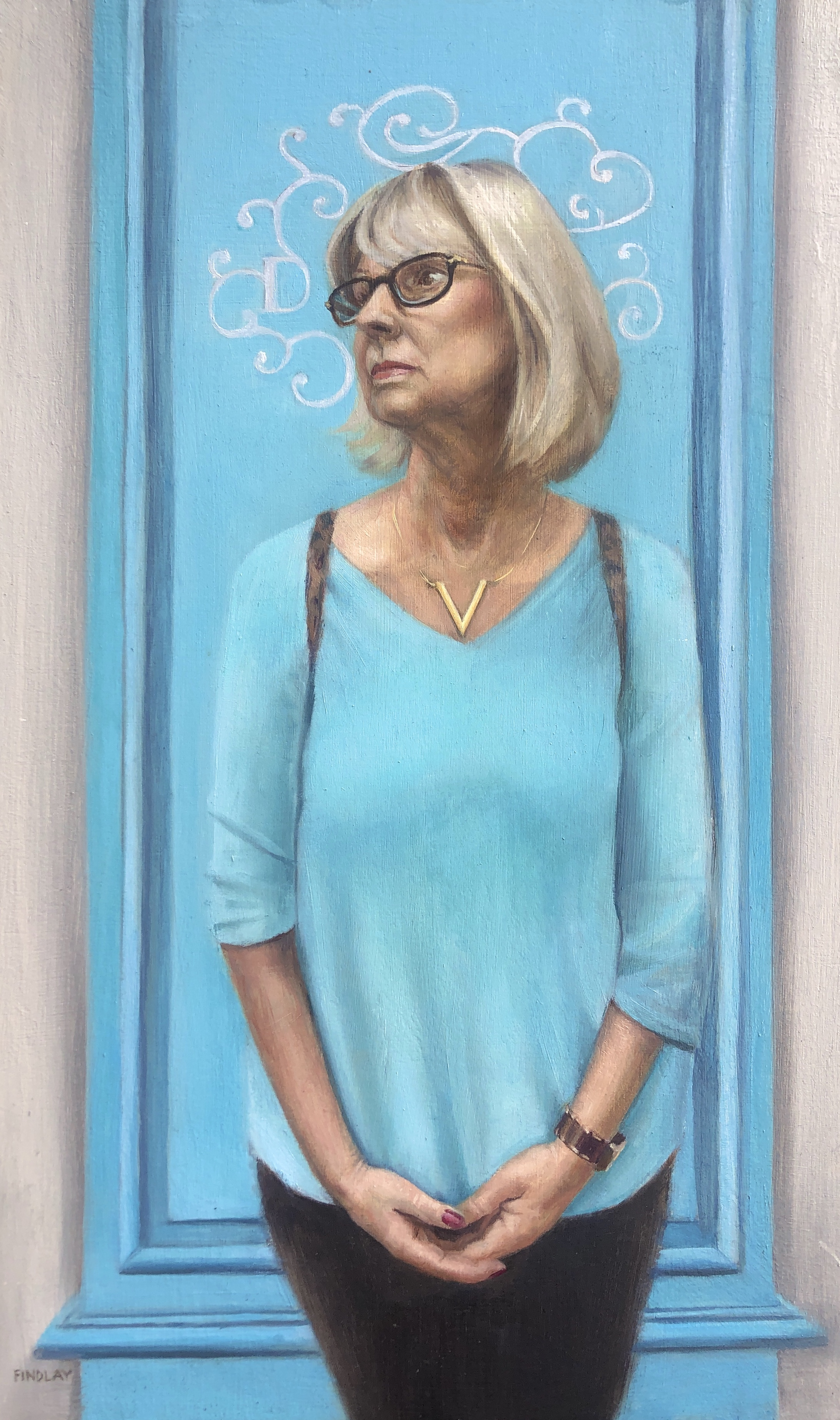 Portrait of mum