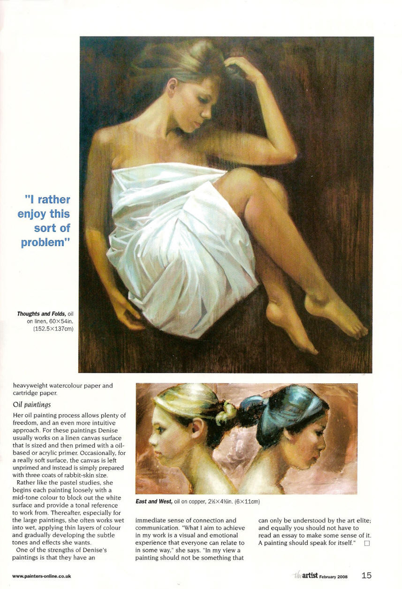 The Artist, February 2008, p.4