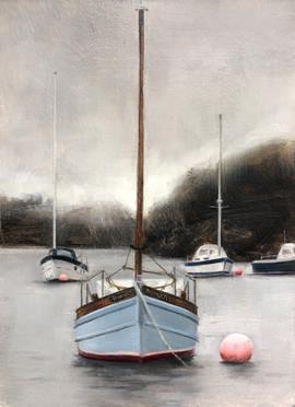 Duanach moored