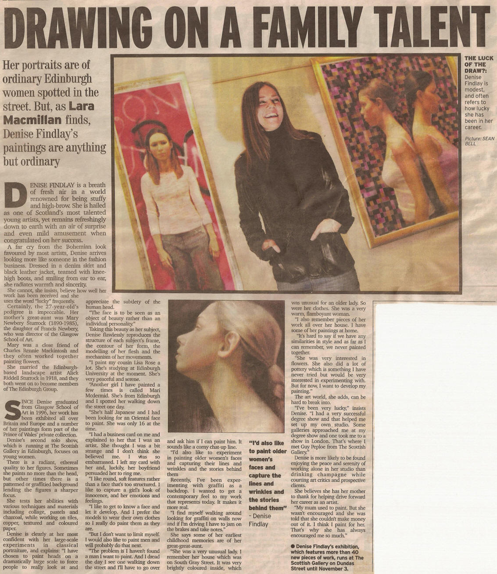 Evening news,18th october 2001
