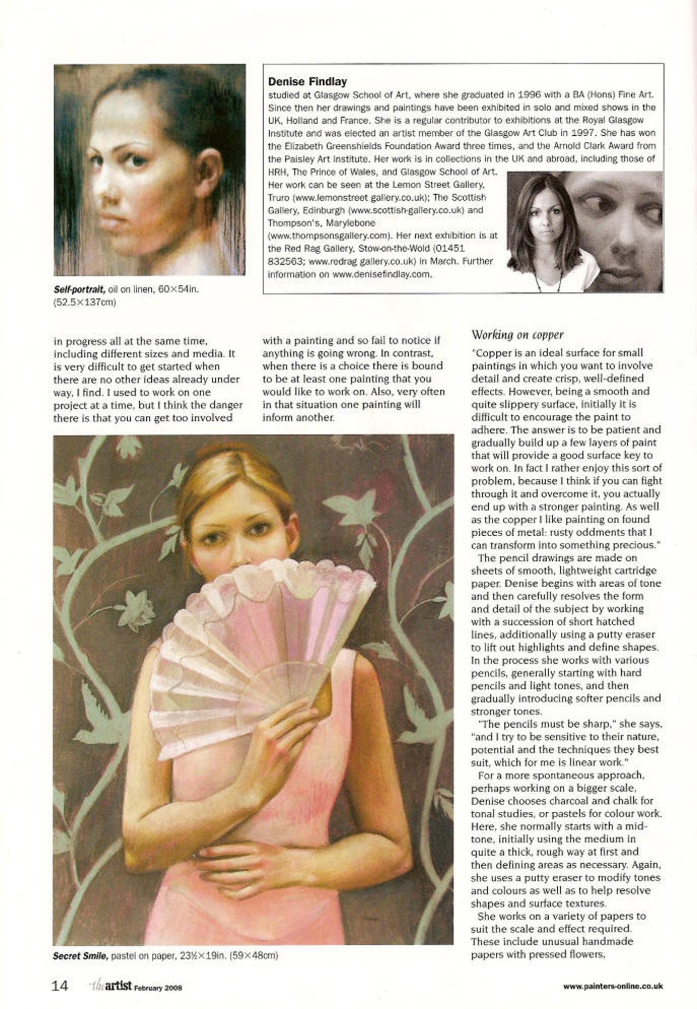 The Artist, February 2008, p.3