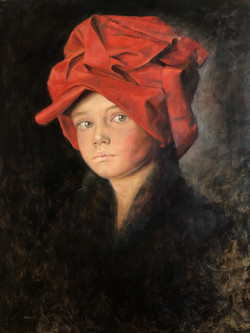 """Bruno with a red turban"""