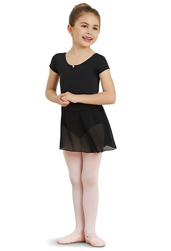 Short Sleeve Leotard Dress