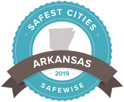 2019 Safest Cities Badge