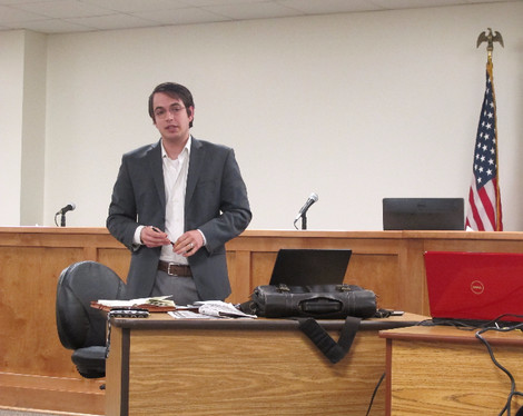 Local Disaster Recovery Manager Visits City Council and Discusses Recovery Efforts