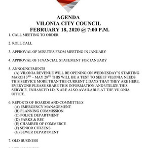 February City Council Meeting