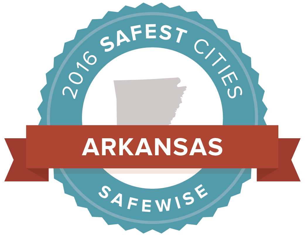 2016 Safest Cities Badge