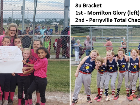 2019 Youth Softball and Baseball Season Results