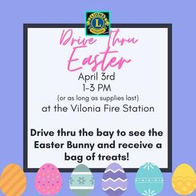 Drive Thru Easter