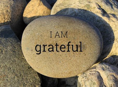 Gratitude List 2018