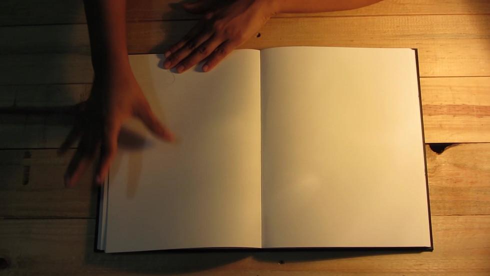 Estudo de desenho para uma linha reta