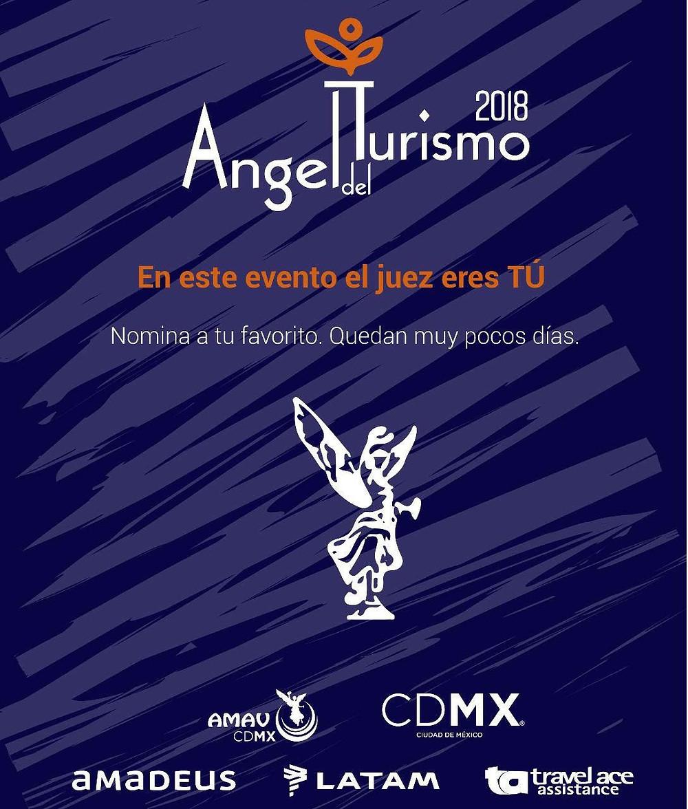 ángel del turismo 2018