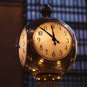 Clock in Station