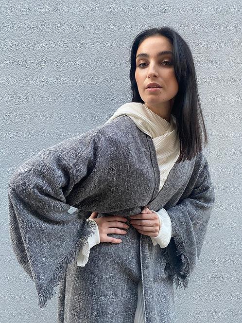 Tweed Throw-on