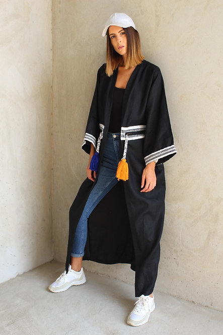 Sporty Chic Throw-On