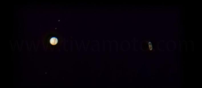 木星と土星の大接近!