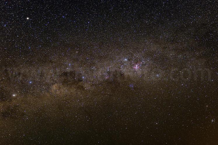 フィルターを使って星空を撮り比べてみた。