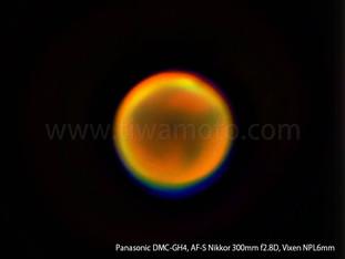 サンニッパで惑星撮影!その3、大接近した火星、撮影方法詳細