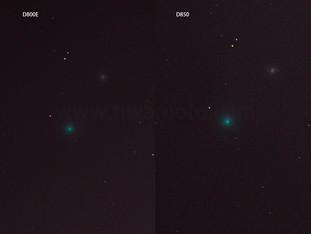 D800EとD850の撮り比べ、シャドーのノイズ対決!(ネオワイズ彗星をサンニッパで撮影、検証した)