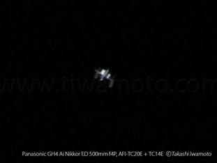 ISS 国際宇宙ステーションの撮影にチャレンジした!