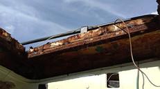 ランクル17年目の大修理!その5、天井修復、内張り張替えの巻き