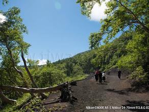 「初めての富士登山」2、登山口より、さあ登るぞ!