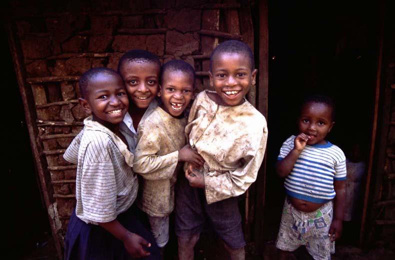 Chaga Children Smile