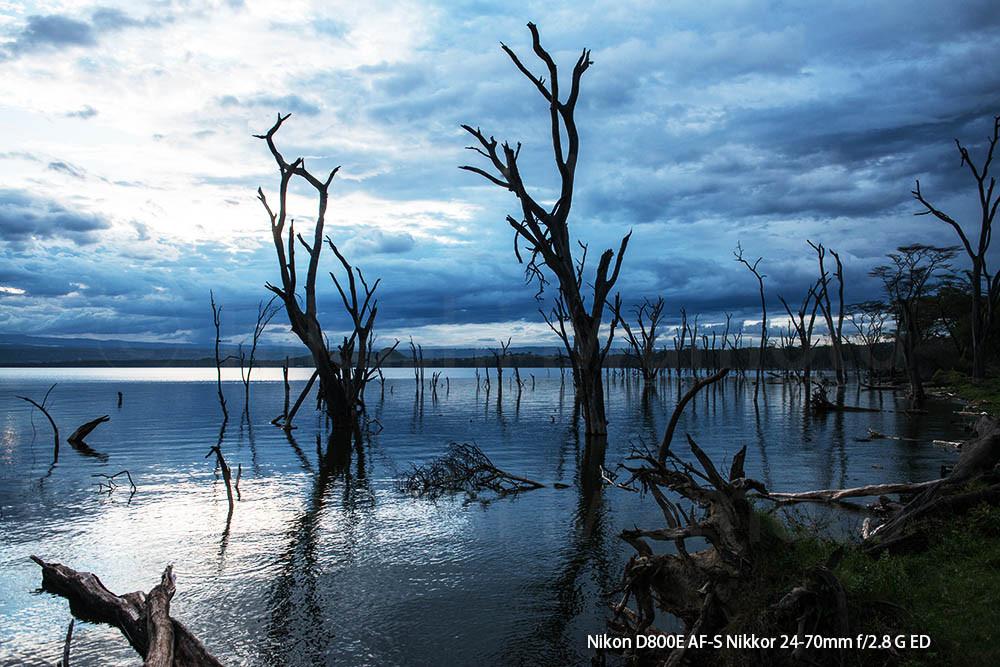 Lake Nakuru high water level
