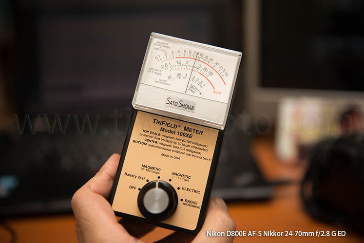身を取り巻く見えない脅威、磁場、電場、高周波、霊場、トリフィールドメーターによる計測のススメ