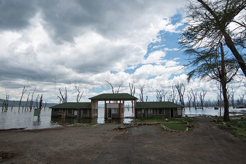 Nakuru National Park Main Gate Used