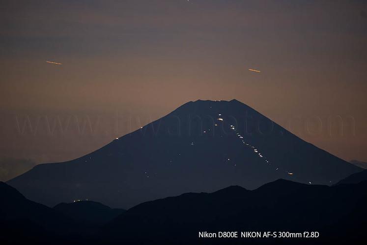 富士山、初めての登山、1