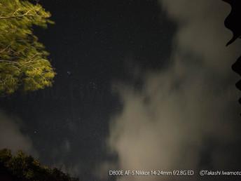 ふたご座流星群、色白でシャープな流星たち(流星の色)