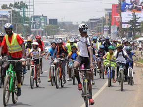 ナイロビのサイクルイベント