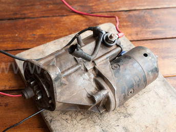 セル(スターター)モーターの修理