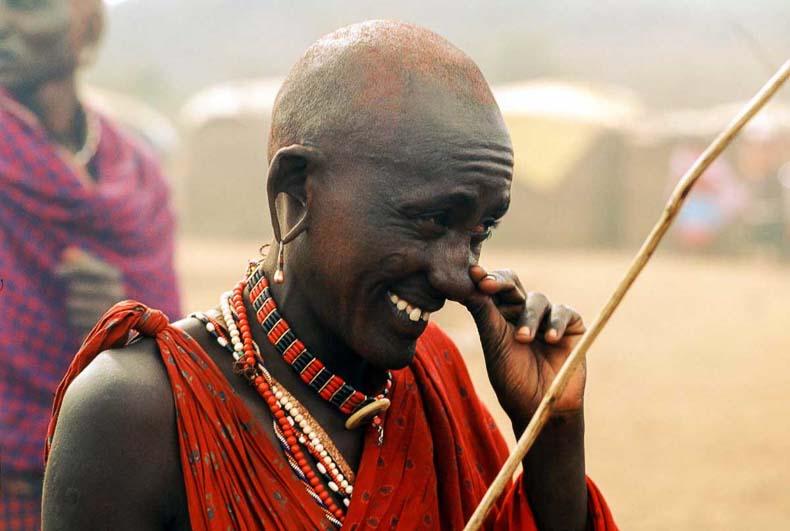 Smile in Masai Celemony