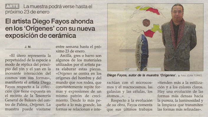 """Prensa escrita (Diario """"Ultima Hora"""")"""
