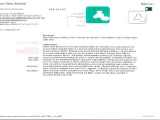 """Prensa digital (Revista """"ART-ES"""")"""