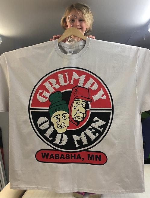 Grumpy Old Men 5XL promotional shirt
