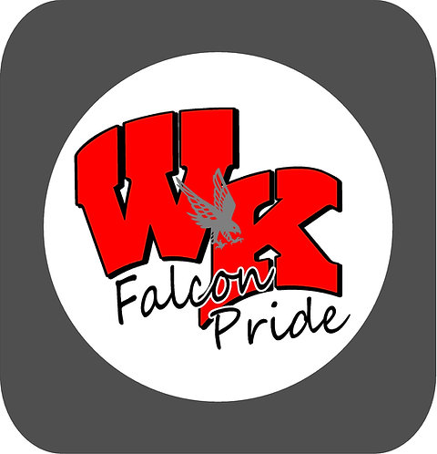 Falcon Pride Sticker
