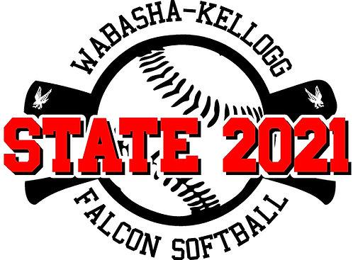 State Softball T-shirt
