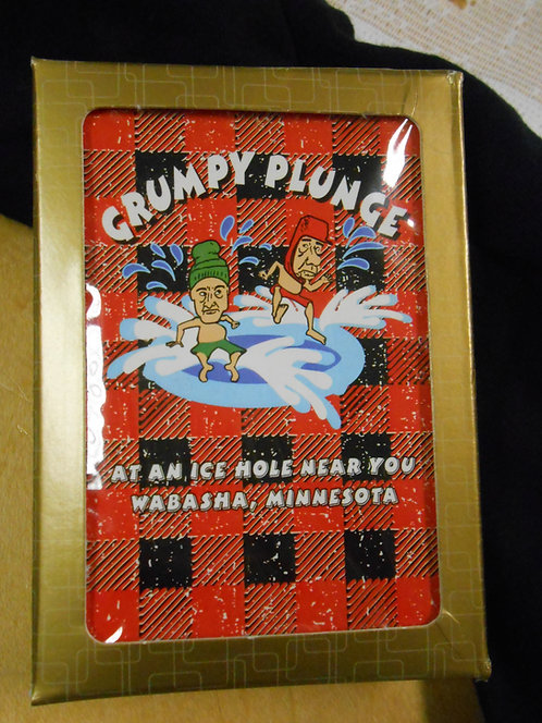 Grumpy Plunge Playing cards
