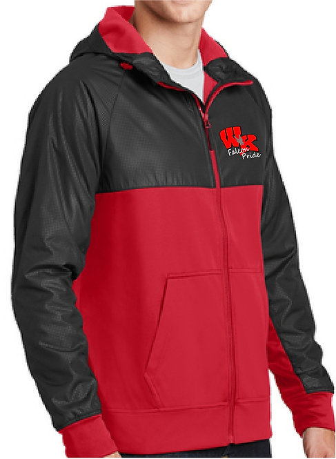 Sport-Tek® Embossed Full-Zip Hooded Jacket - JST50