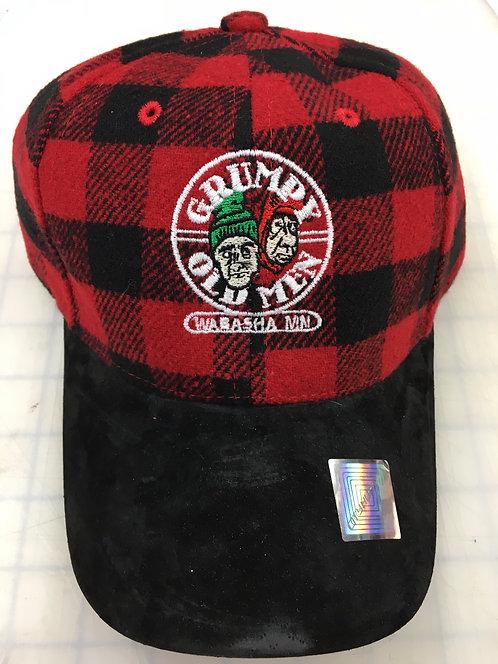 Grumpy Old Men Plaid Baseball Hat