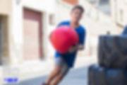 Niño entrena en CrossfitLine Sabadell