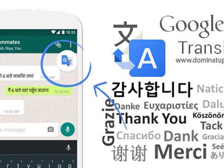 Google Translate: nueva opción para traducir texto desde cualquier App
