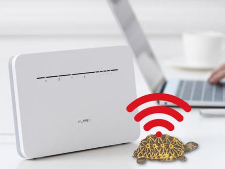 ¿Teletrabajo con el WiFi lento? tips y consejos para mejorarlo