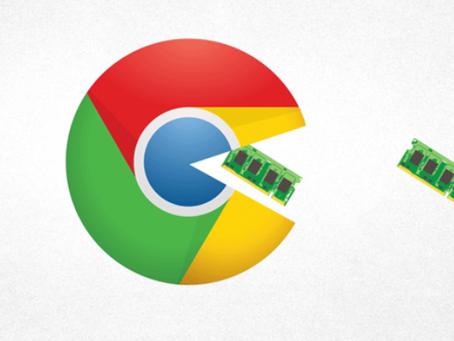 Google Chrome lanza función para un menor uso de RAM