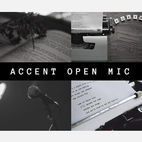 Accent Open Mic (soirées de poésie)