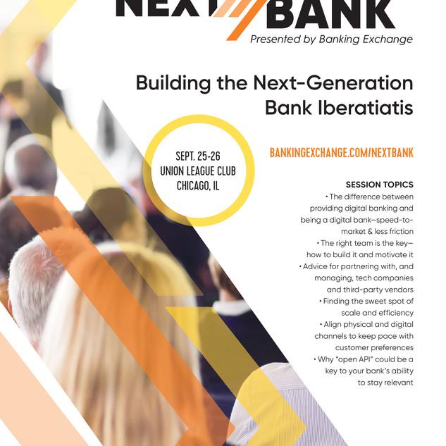 NextBank Tradeshow Ad